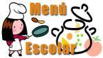 menú escolar